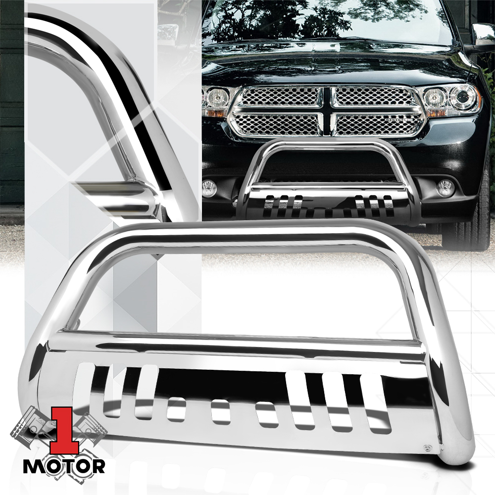 "Black 3/""Front Bumper Bull//Push Bar Grille Guard for 11-16 Durango//Grand Cherokee"
