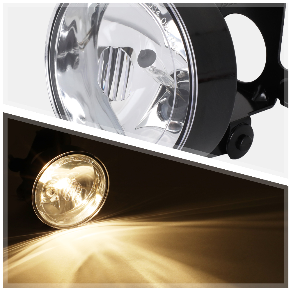 FOR 02-11 BUICK RENDEZVOUS//GMC CANYON 1PC LH//RH OE STYLE FRONT FOG LIGHT//LAMP
