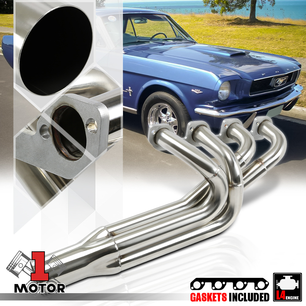 STAINLESS STEEL PRO FOUR HEADER FOR PINTO//MUSTANG II 2.3L 4CYL EXHAUST//MANIFOLD