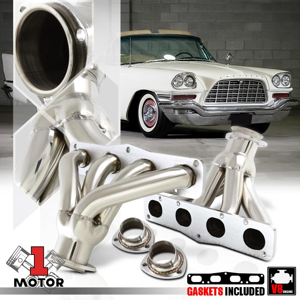 STAINLESS STEEL HEADER EXHAUST MANIFOLD FOR MOPAR CHRYSLER HEMI V8 331//354//392