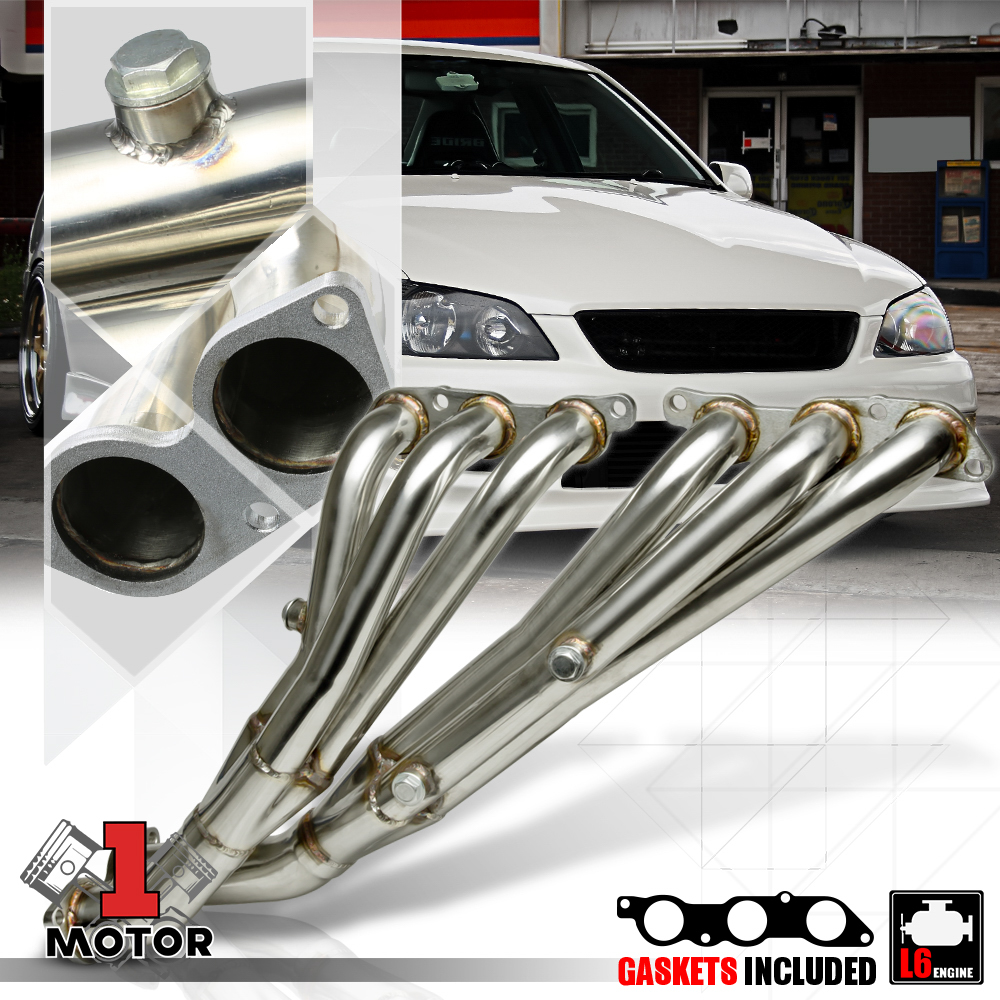 Manifold Stainless Header Fit For Lexus IS300 3.0L 2JX-GE DOHC 2001-2005 Performance