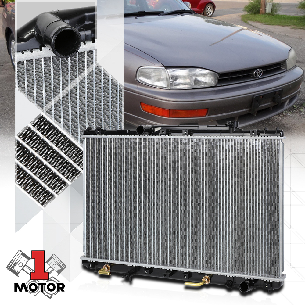 Radiator Assembly Aluminum Core Direct Fit for 92-96 Toyota Camry 2.2L New