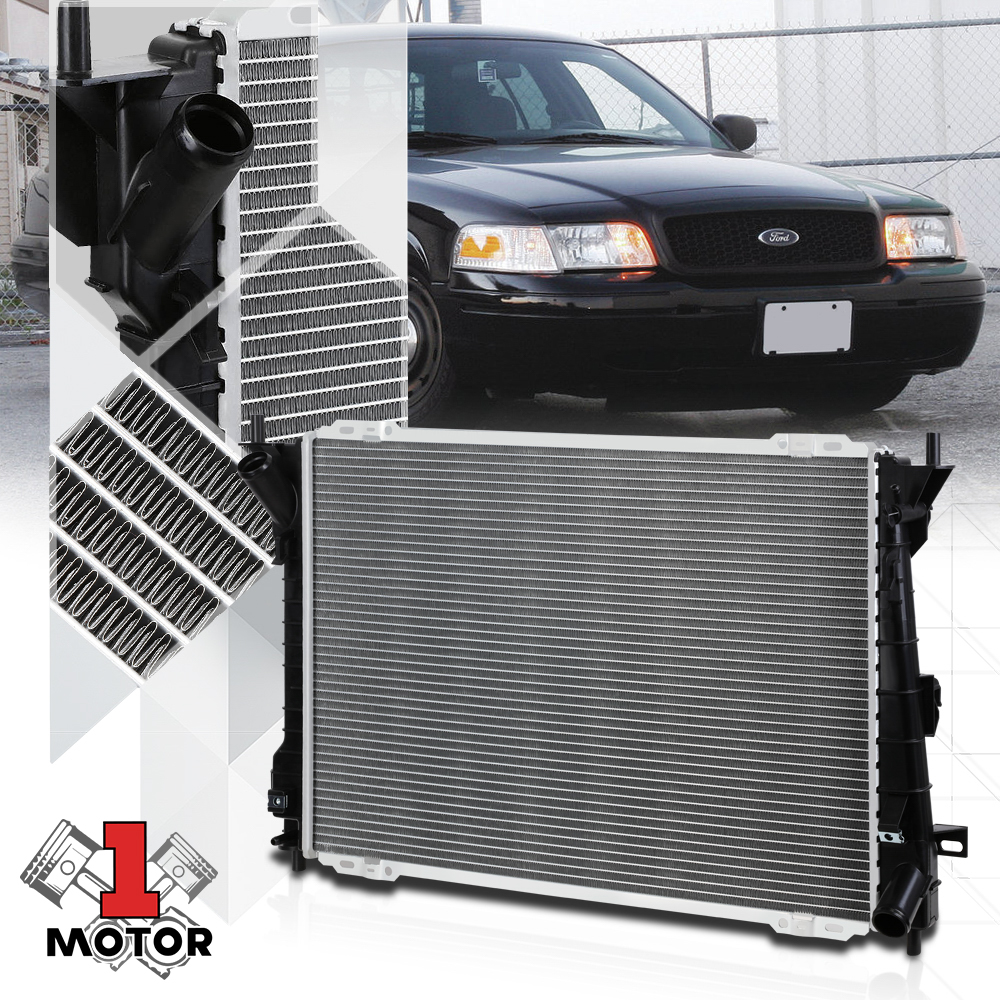 New Aluminum Radiator for Ford Mercury Crown Victoria Town Car Grand Marquis 4.6