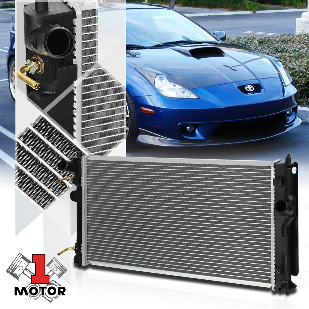 Radiator Assembly Aluminum Core Plastic Tank Direct Fit for 00-05 Toyota Celica