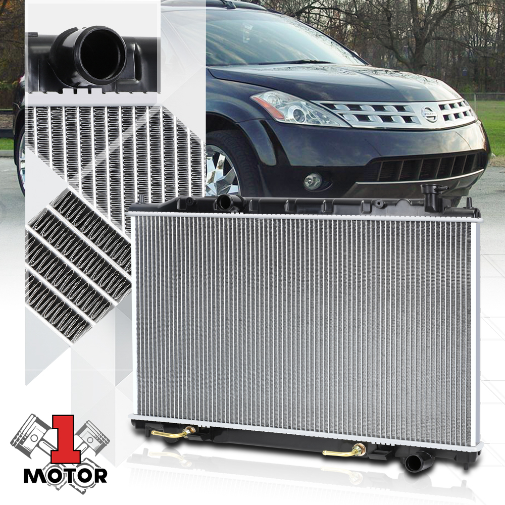 FOR 03-07 MURANO AT//MT OE STYLE FULL ALUMINUM CORE COOLING RADIATOR DPI 2578