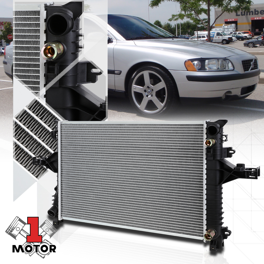 Aluminum Radiator OE Replacement for 99-04 Volvo C70//S70//V70 2.3//2.4 AT dpi-2424