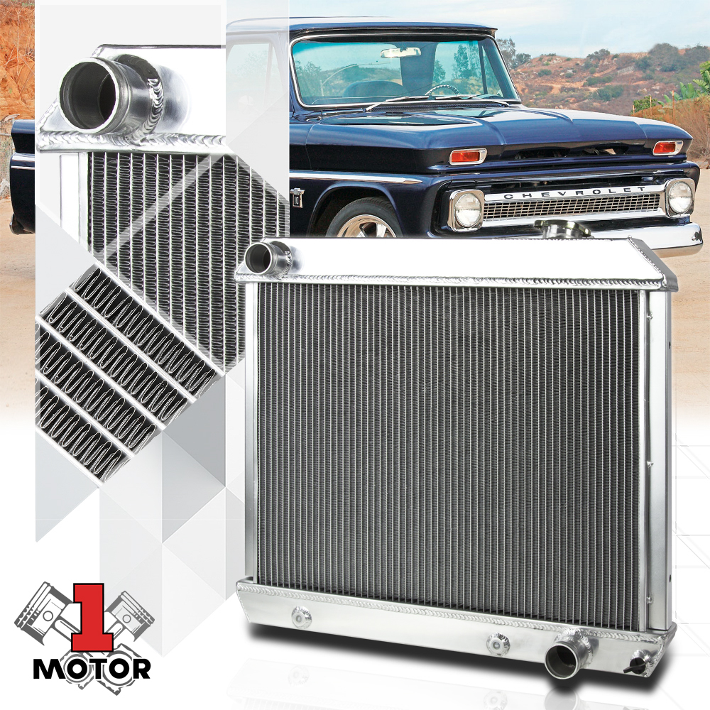 3 ROW Aluminum Performance Radiator for CHEVY//GMC C//K PICKUP TURCK 63-66 AT MT
