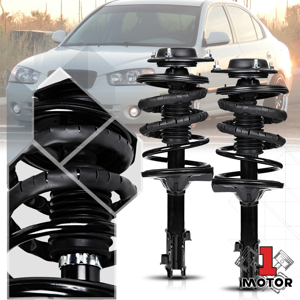 Suspension Strut and Coil Spring Assembly Front Right fits 00-06 Hyundai Elantra