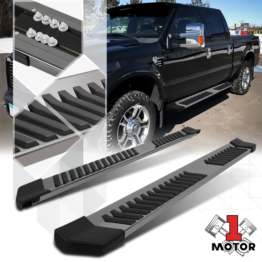 """Chrome Running Board 6/"""" Side Step Nerf Bar for 99-16 Ford Super Duty SD Ext Cab"""