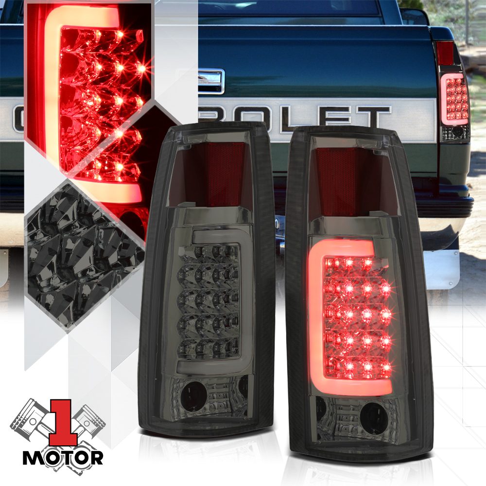 Tail Light For 88-00 Chevy GMC Pickup 92-99 Suburban Yukon Driver Side 16506355